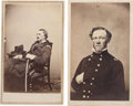 Photography:CDVs, Pair of Union Generals' Cartes de Visite: Major General Israel Bush Richardson, Mortally Wounded at Antietam and M... (Total: 2 )