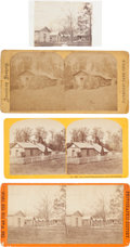 Photography:Stereo Cards, Ulysses S. Grant: Headquarters Photographs.... (Total: 4 )