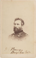 Photography:CDVs, Union Major General Hiram Gregory Berry, Killed by a Sharpshooter at the Battle of Chancellorsville, Carte de Visite...