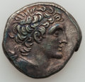 Ancients:Greek, Ancients: PTOLEMAIC EGYPT. Ptolemy IX, with Cleopatra III (firstreign, 116-110 BC). AR tetradrachm (13.22 gm)....