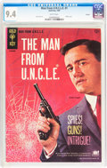 Silver Age (1956-1969):Adventure, Man from U.N.C.L.E. #1 Curator pedigree (Gold Key, 1965) CGC NM 9.4 White pages....