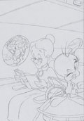 Animation Art:Production Drawing, Tweety and Sylvester Mysteries VHS Box and Consumer ProductConcept Drawing Group (Warner Brothers, 1995).... (Total: 2 Items)