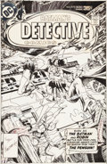 Original Comic Art:Covers, Marshall Rogers Detective Comics #473 Cover Original Art(DC, 1977)....