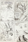 "Original Comic Art:Panel Pages, Jack Kirby and Mike Esposito (as Mickey Demeo) Tales toAstonish #71 ""Like a Beast at Bay!"" Page 3 Hulk Original A..."