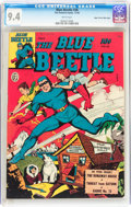 Golden Age (1938-1955):Superhero, Blue Beetle #36 Mile High pedigree (Fox Features Syndicate, 1944) CGC NM 9.4 White pages....