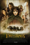 "Movie Posters:Fantasy, The Lord of the Rings: The Fellowship of the Ring (New Line, 2001). One Sheet (27"" X 40"") DS Advance. Fantasy.. ..."