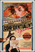 """Movie Posters:Foreign, Confidentially Yours (International Spectrafilm, 1983). One Sheet (27"""" X 41""""). Foreign.. ..."""