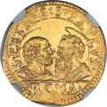 Italy:Papal States, Italy: Papal States. Urban VIII gold Scudo d'oro ND (1623-44) MS64NGC,...