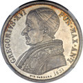 Italy:Papal States, Italy: Papal States. Gregory XVI Scudo 1831-B Anno I MS64 NGC,...