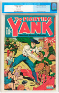 Golden Age (1938-1955):Superhero, Fighting Yank #13 Mile High pedigree (Nedor Publications, 1945) CGC NM 9.4 Off-white pages....