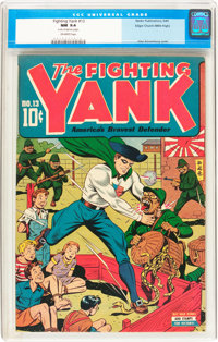 Fighting Yank #13 Mile High pedigree (Nedor Publications, 1945) CGC NM 9.4 Off-white pages