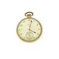 Timepieces:Pocket (post 1900), Elgin 14k Gold 21 Jewels Pocket Watch. ...