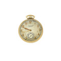 Timepieces:Pocket (post 1900), Waltham Premier 14k Gold Pocket Watch. ...
