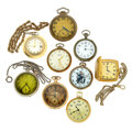 Timepieces:Pocket (post 1900), A Lot Of Nine Various Pocket Watches. ... (Total: 9 Items)