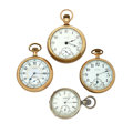 Timepieces:Pocket (post 1900), A Lot Of Four Elgin Pocket Watches. ... (Total: 4 Items)