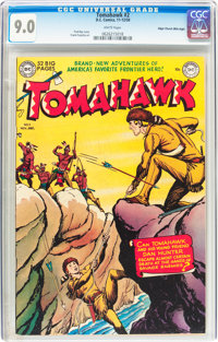 Tomahawk #2 Mile High pedigree (DC, 1950) CGC VF/NM 9.0 White pages