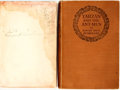 Books:Science Fiction & Fantasy, Edgar Rice Burroughs. Two Different Editions of Tarzan and the Ant Men, One Inscribed by Burroughs. Tarzan a... (Total: 2 Items)