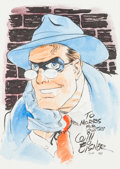 Original Comic Art:Illustrations, Will Eisner The Spirit Specialty Drawing Original Art (1989)....