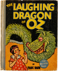 Big Little Book #1126 The Laughing Dragon of Oz (Whitman, 1934) Condition: VG