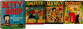 Big Little Book:Miscellaneous, Big Little Book Humor Group (Whitman and Saalfield, 1934-50)....(Total: 8 Comic Books)