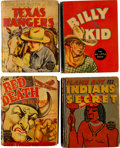 Big Little Book:Miscellaneous, Big Little Book Western Group (Whitman, 1933-40).... (Total: 6Comic Books)