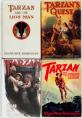 Books:Science Fiction & Fantasy, Edgar Rice Burroughs. Group of Four First Edition TarzanBooks. Tarzana: Edgar Rice Burroughs, Inc., [1934-1947]... (Total:4 Items)