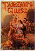 Books:Science Fiction & Fantasy, Edgar Rice Burroughs. Tarzan's Quest. Tarzana: Edgar RiceBurroughs, Inc., [1940]. Reprint edition. ...