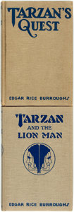 Books:Science Fiction & Fantasy, Edgar Rice Burroughs. Pair of Reprint Edition Tarzan Books. Tarzan and the Lion Man. Tarzana: Edgar Rice... (Total: 2 Items)