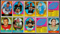 Football Cards:Sets, 1967 Topps Football Collection (120). ...
