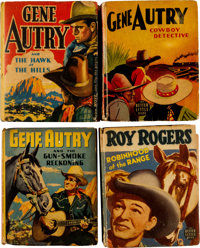Gene Autry and Other Cowboy Stars Big Little Book Group (Whitman, 1940-58).... (Total: 08 Comic Books)