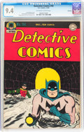 Golden Age (1938-1955):Superhero, Detective Comics #94 Rockford pedigree (DC, 1944) CGC NM 9.4 Off-white to white pages....