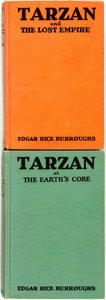Books:Science Fiction & Fantasy, Edgar Rice Burroughs. Pair of First Edition Tarzan Books. Tarzan and the Lost Empire. New York: Metr... (Total: 2 Items)