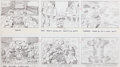 "Original Comic Art:Miscellaneous, Jack Kirby Fantastic Four ""The Frightful Four"" Storyboard#23 Original Animation Art (DePatie-Freleng, 1978)...."