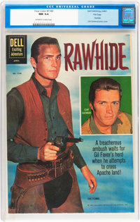 Four Color #1160 Rawhide - File Copy (Dell, 1961) CGC NM 9.4 Off-white to white pages
