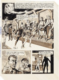 "Original Comic Art:Panel Pages, Wayne Howard Web of Horror Partial Story ""Wax Master"" Original Art (Major Magazines, 1970).... (Total: 6 )"