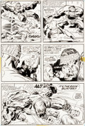 Original Comic Art:Panel Pages, Jack Kirby and Mike Royer Kamandi #3 Page 17 Original Art(DC, 1978)....