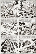 Original Comic Art:Panel Pages, Jack Kirby and Mike Royer 2001: A Space Odyssey #2 Page 4Original Art (Marvel, 1977)....