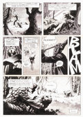 "Original Comic Art:Panel Pages, Bernie Wrightson Creepy #63 ""Jenifer"" Page 16 Original Art(Warren, 1974)...."
