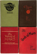 Books:Science Fiction & Fantasy, Edgar Rice Burroughs. Group of Four First Edition MarsBooks. Chicago: A.C. McClurg & Company, 1917-1920. Ti...(Total: 4 Items)