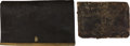 Military & Patriotic:Pre-Civil War, Two Early 19th Century American Cartridge Boxes .... (Total: 2 )