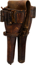 Arms Accessories:Holsters, 19th Century Pommel Holster....