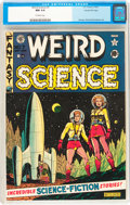 Golden Age (1938-1955):Science Fiction, Weird Science #7 Gaines File pedigree 2/10 (EC, 1951) CGC NM 9.4Off-white pages....