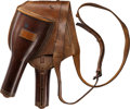 Arms Accessories:Holsters, Stunning Condition Pommel Holsters....