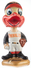 "Baseball Collectibles:Others, 1967-72 Baltimore Orioles ""Gold Base"" Nodder...."
