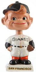 Baseball Collectibles:Others, 1961-63 San Francisco Giants White Base Nodder....