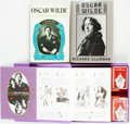 Books:Biography & Memoir, Pair of Oscar Wilde Biographies [and:] The Oscar WildePlaying-Cards. Various publishers and dates.... (Total: 3Items)