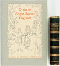 Books:World History, Gale R. Owen-Crocker. Dress in Anglo-Saxon England. Manchester University Press, [1986]. Publisher's full blue c... (Total: 2 Items)