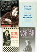 Books:Biography & Memoir, [Oscar Wilde]. Group of Four Biographies about Wilde. Various publishers and dates.... (Total: 4 Items)