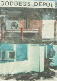 ROBERT RAUSCHENBERG (American, 1925-2008) In Transit, Doctors of the World Collection, 2001 Lithogra