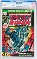 Bronze Age (1970-1979):Superhero, Ghost Rider #1 (Marvel, 1973) CGC NM/MT 9.8 Off-white to whitepages....